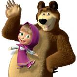 Máša a medveď, 540 * 550