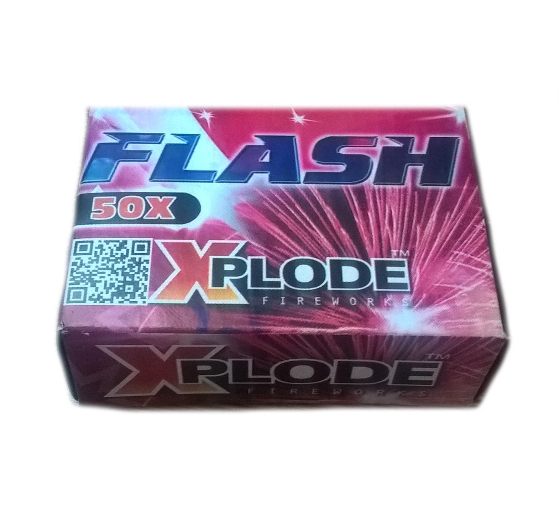 Zábavná pyrotechnika Flash - Traskavé guľôčky