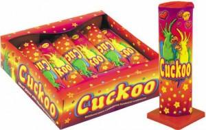 Fontána Cuckoo - zábavná pyrotechnika