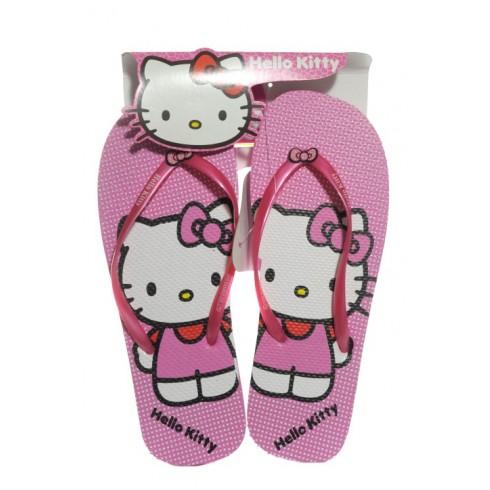 454a648c1c89c Detské plážové šlapky Hello Kitty - bodky - Šľapky a žabky - Sandále ...