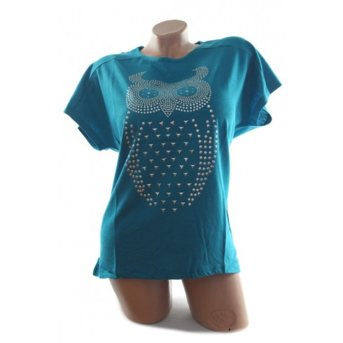 Dámske tričko - sova