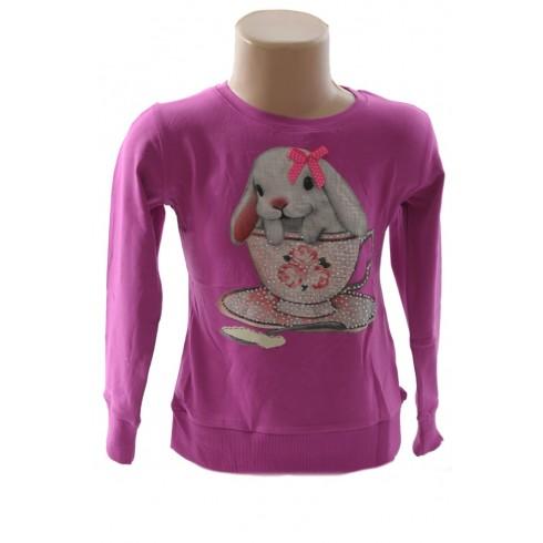 Detské tričko - zajačik, 2-6009