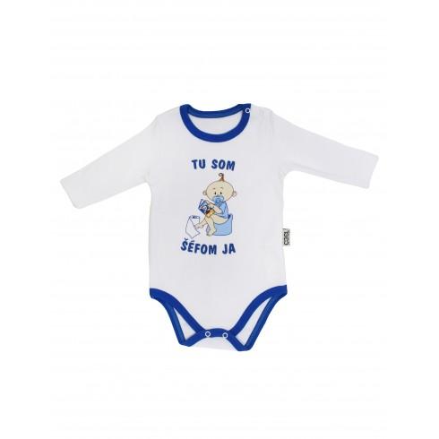 Chlapčenské kojenecké body - tu som šéfom ja