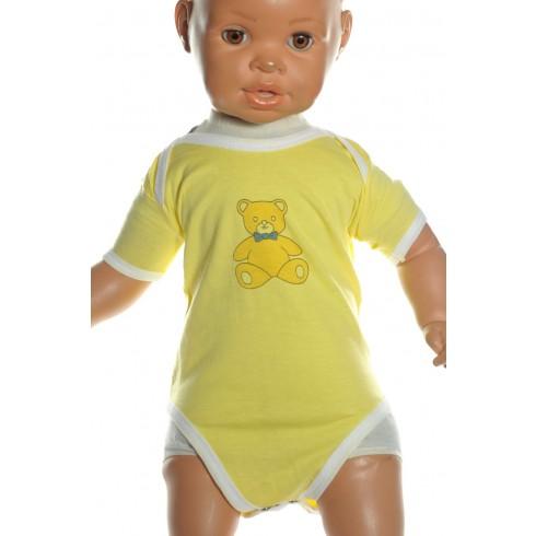 Detské, kojenecké body - macko chlapčenské