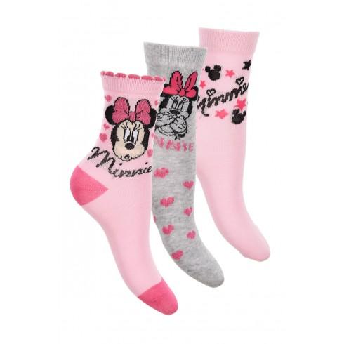 Ponožky Minnie Mouse - 3ks