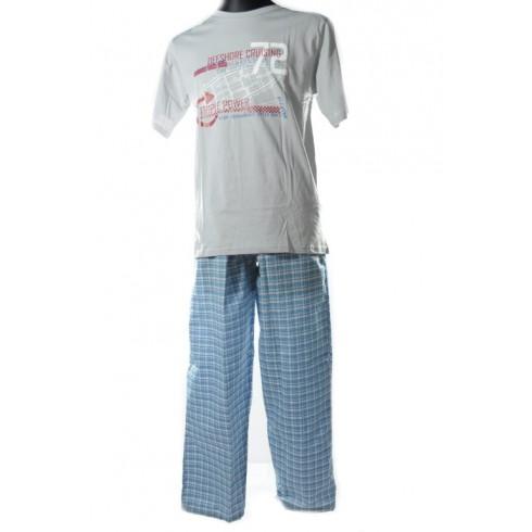 aab84425d950 Pánske pyžamo - dlhé nohavice - Pyžamá a nočné košele - Pánske ...