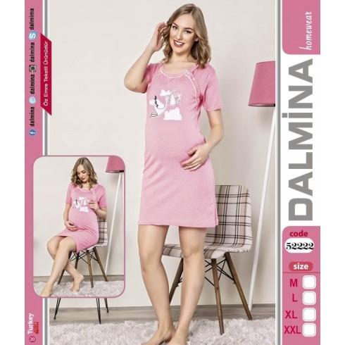 Tehotenská nočná košeľa - bocian