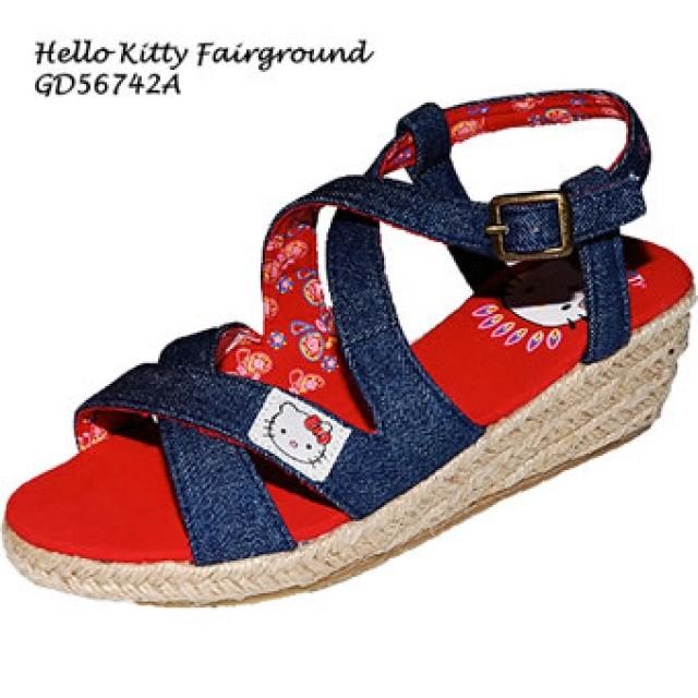 c2934702d00a4 ... Detské oblečenie · Obuv; Letné riflové sandálky Hello Kitty. Letné  riflové sandálky Hello Kitty
