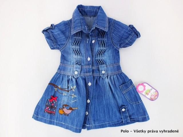3bf43bfbd0fc Šaty detské - riflové - Šaty - Detské oblečenie - Oblečenie a móda