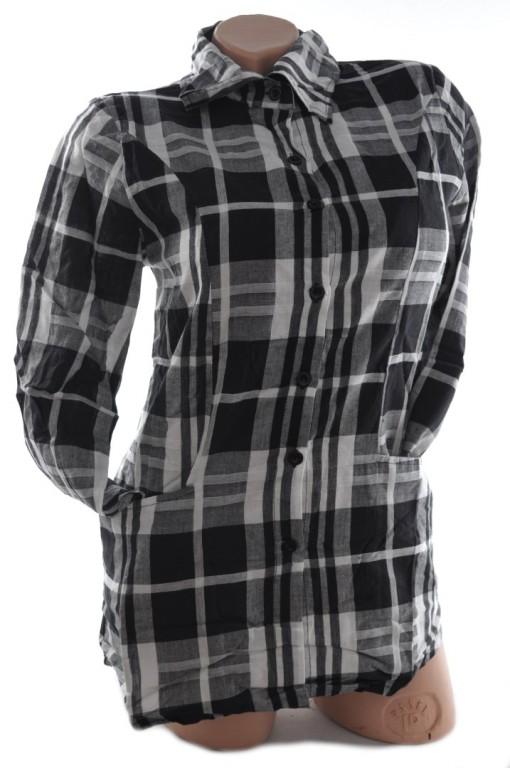 6cf7a9d2bead Dámska košeľa károvaná - Košele - Blúzky a košele - Topy
