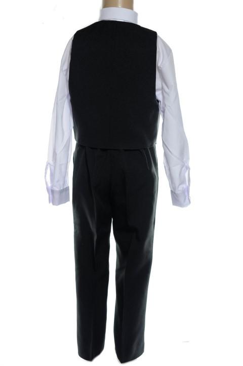 4819e5e738c1f Detský komplet, oblek čierny - vesta + nohavice - Komplety a dupačky ...