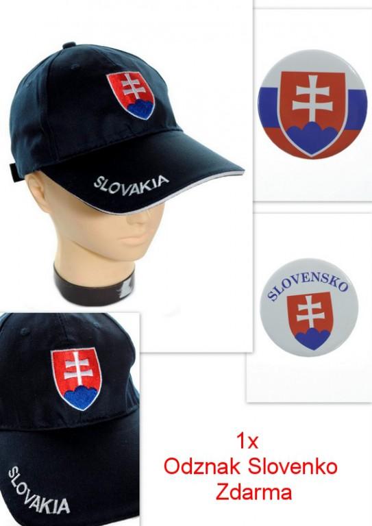 366121cf9 Šiltovka slovakia - modrá - Šiltovky - Čiapky, šiltovky, klobúky a ...