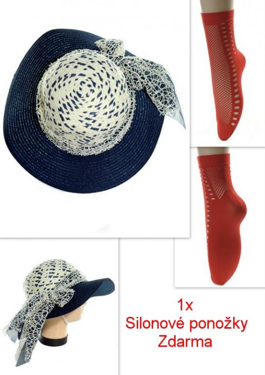0c76851d0 Dámsky klobúk sieťková mašľa + ponožky zdarma - Klobúky - Čiapky ...