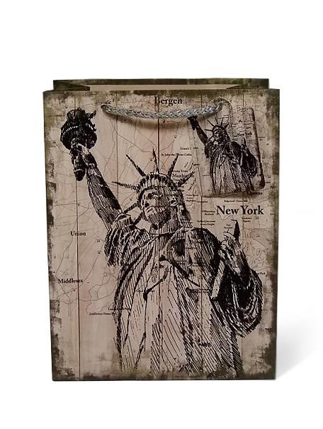 b25ff0906 Darčeková taška - Socha slobody - Darčekové tašky - Dekorácia a darčeky