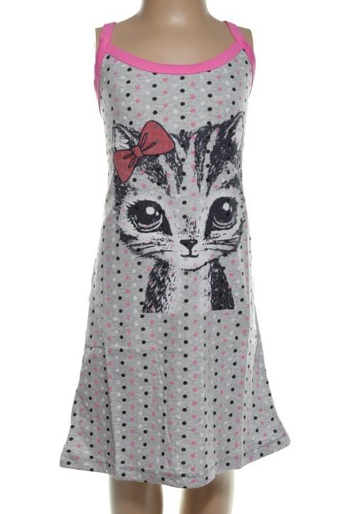 08c03fafe80f Detská nočná košeľa - mačka