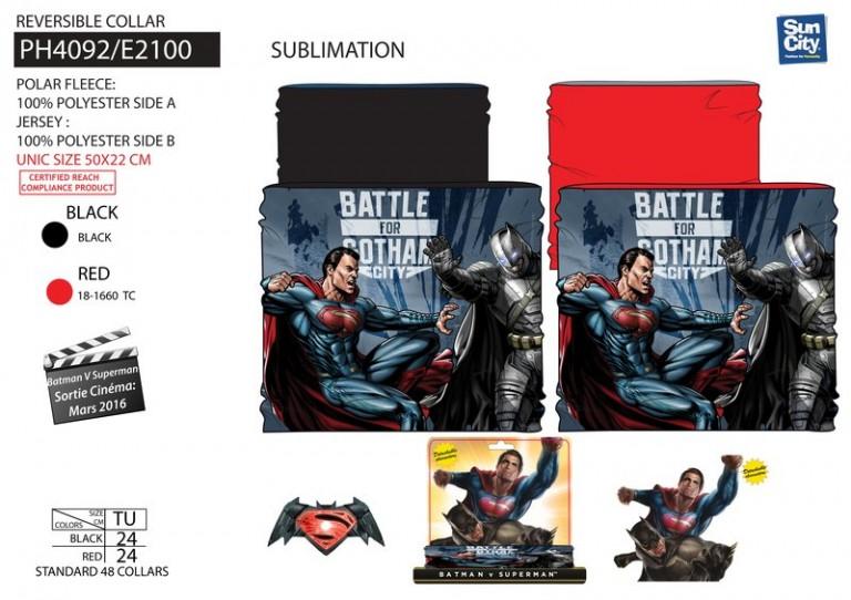 827b386243cb Nákrčník Batman superman