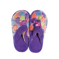 Detské papuče farebné s mašlou