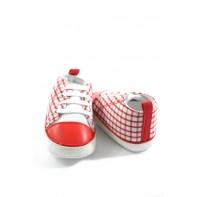 Kojenecké topánočky - káro