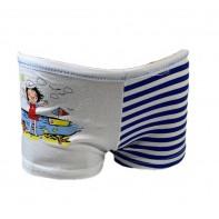 Dievčenské šortkové nohavičky dievča na pláži