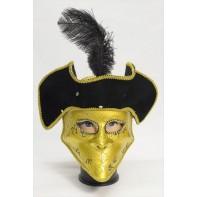 Trblietavá maska s klobúkom – pánska