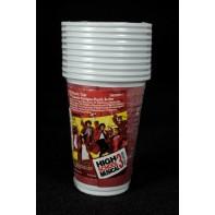 10 plastových pohárov HSM