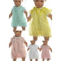 Detské šaty - kvetinová krajka, 15-614