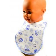 Detský kojenecký podbradník - cez hlavu
