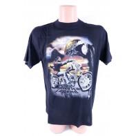 Pánske metalové tričko Orol American legend