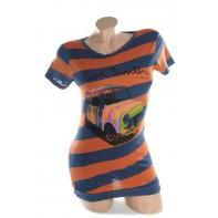 Dámske tričko - pásikavy