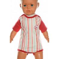 Detské, kojenecké body - pásik + kuriatko