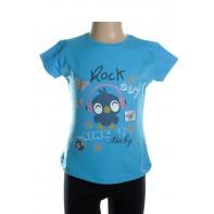 Detské tričko - Rock baby