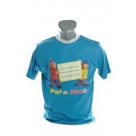 Detské tričko - Pat a Mat kratky rukav
