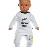 Detské tričko - Agent 007 - tmod + darček