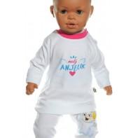 Detské tričko - Malý anjelik, ružová