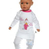 Detské tričko - Som krásna - ruž + darček