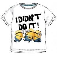 Detské tričko MINIONS -I didnt do it