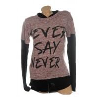 Dámsky sveter - Never say never, C-20-206