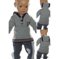 Detský sveter - 2 gombíky