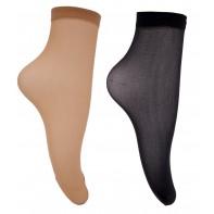 Silónkove ponožky - hladké, komfort