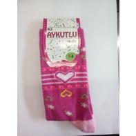 Detské ponožky kvety, 21-6068