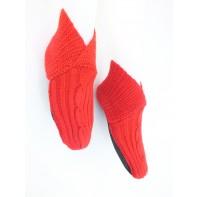Ponožky - štrikované, 21-J6346