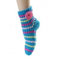 Dámske štrikované ponožky, 21-J6502