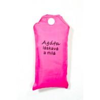 Nákupná taška s menom Agáta - láskavá a milá 15ltr