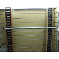 Rebríková tyč chróm - 120cm