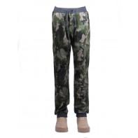 Chlapčenské tepláky s pudlom - maskáčové camouflage
