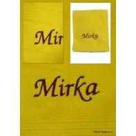 Uterák Mirka, 90x50cm, rôzne farby