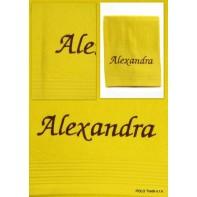 Uterák ALEXANDRA, 90x50cm, rôzne farby