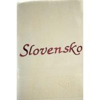Osuška Slovensko - svetlo hnedá svk slovakia 70*140 cm