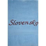 Osuška Slovensko - modrá svk slovakia 70*140 cm