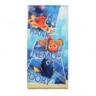 Plážová osuška Dory, Nemo a Hank